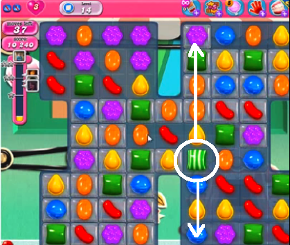 candy crush level 14
