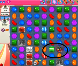 candy crush level 173