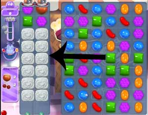 Candy Crush Dreamworld Level 217 Cheats and Tips