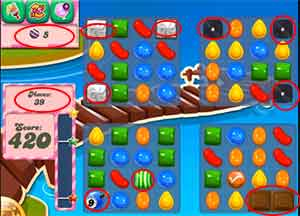 candy crush level 131