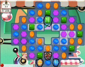 candy crush level 18