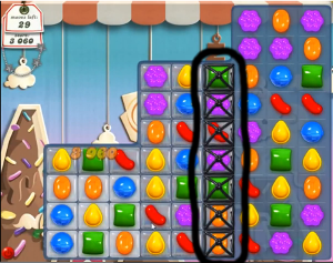 candy crush level 40