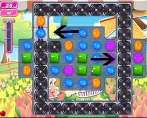Candy Crush level 605