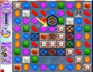 Candy Crush Dreamworld Level 215 Cheats and Tips