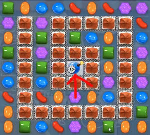 candy crush level 143