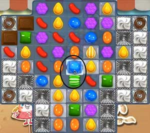 candy crush level 167