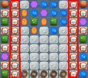 Candy Crush Level 185 Cheats and Tips