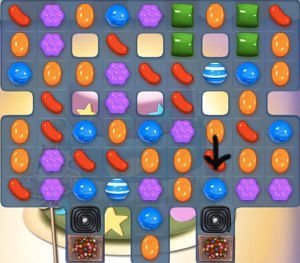 candy crush level 206
