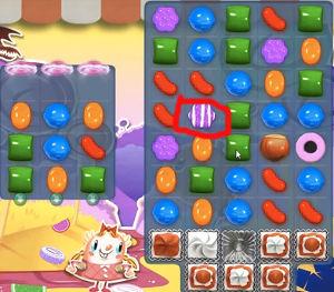 candy crush level 296