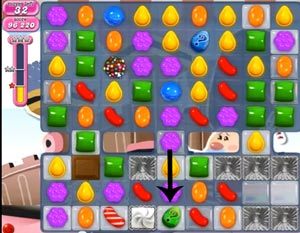 candy crush level 385