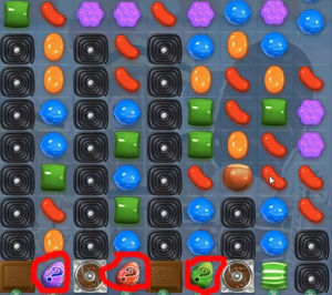 candy crush level 387
