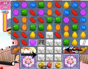 candy crush level 394
