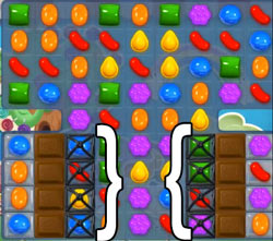 candy crush level 53