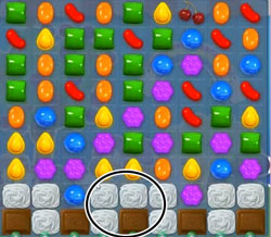 candy crush level 57