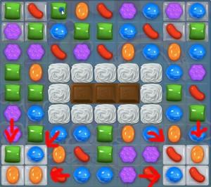 candy crush level 58