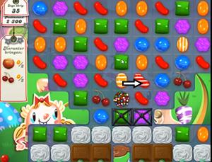 candy crush level 72