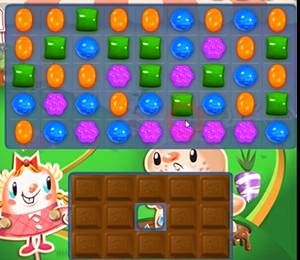candy crush level 73