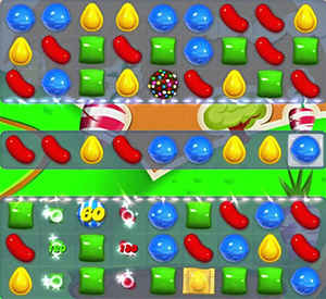 candy crush level 77