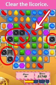 candy crush level 125