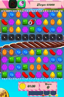 candy crush level 134