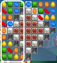 candy crush level 155