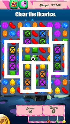 candy crush level 98