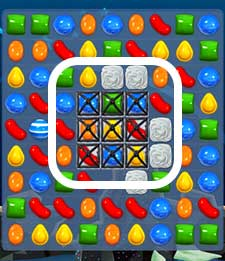candy crush level 99