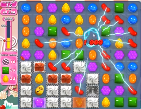 candy crush level 345