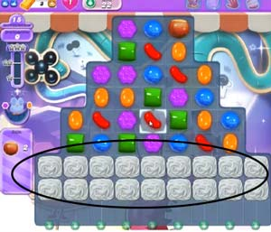 Candy Crush Dreamworld Level 22 Cheats and Tips