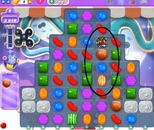 candy crush level 22