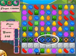 Candy Crush Dreamworld Level 25 Cheats and Tips