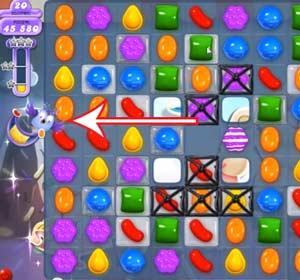 Candy Crush Dreamworld Level 50 Cheats and Tips