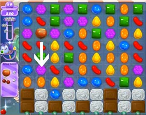 Candy Crush Dreamworld Level 57 Cheats and Tips