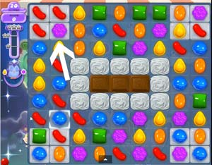candy crush level 58
