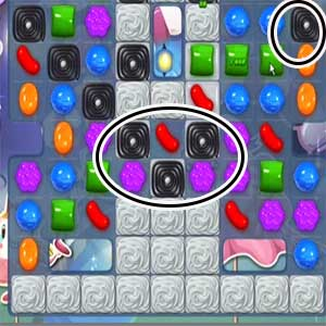 Cheats for Candy Crush Level 91
