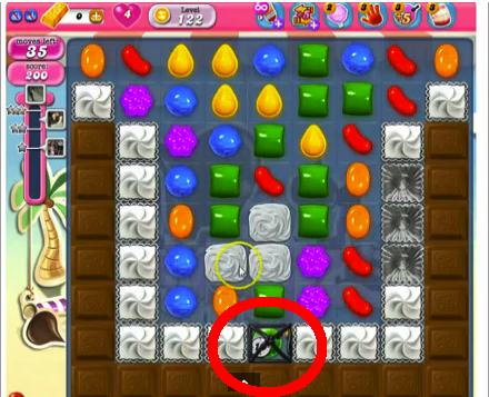 candy crush level 122