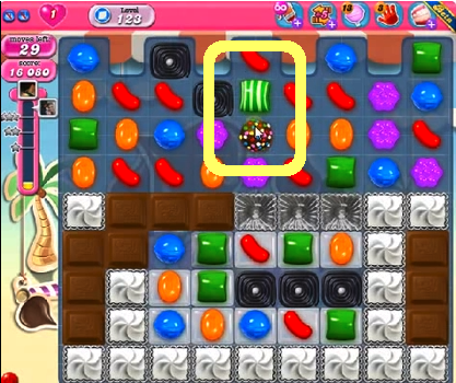 candy crush level 123