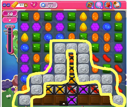 candy crush level 61