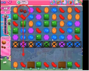 candy crush level 54