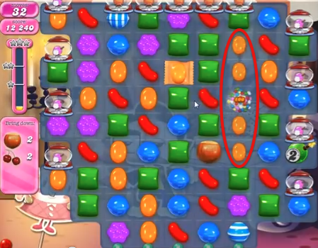 Candy Crush Level 521 Cheats and Tips