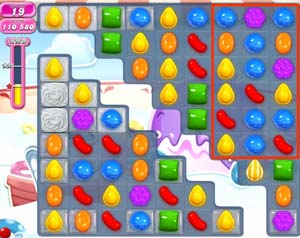 Candy Crush level 617