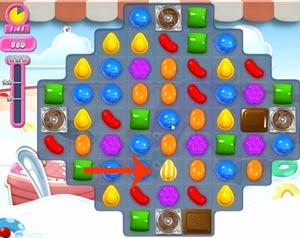 Candy Crush level 618
