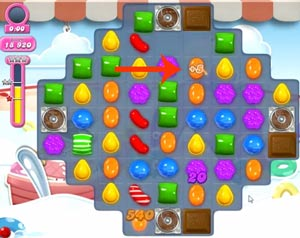 Candy Crush Level 618 Cheats and Tips