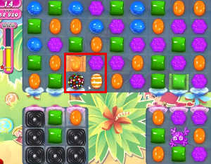 Candy Crush level 627