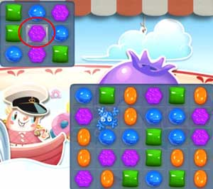 Candy Crush level 606