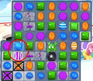 Candy Crush level 607