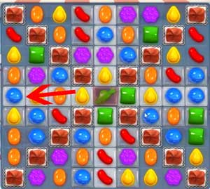 Candy Crush level 608