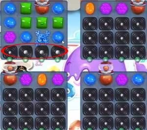 Candy Crush level 610