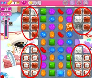 Candy Crush level 612