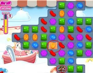Candy Crush level 613